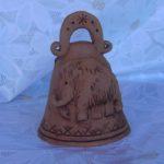 Колокольчик, сувенир, керамика