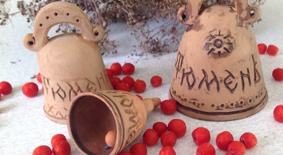 Керамика, авторские изделия ручной работы, колокольчики